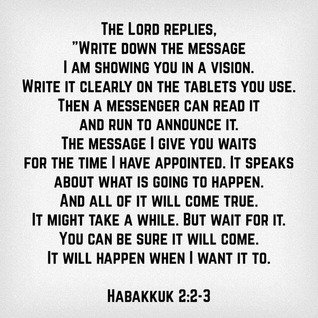 vision habakkuk